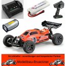 1:10 EP Buggy AB1BL 4WD Brushless RTR Set 2,4 GHz CR2...