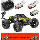 1:8 Monster Truck AMT8 4WD Brushless RTR Set Lipo Akku...