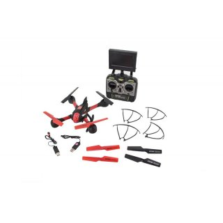 Monstertronic Sky Hawk FPV HD Cam Kamera RTF 2,4 GHz Komplett Set Quadcopter Copter